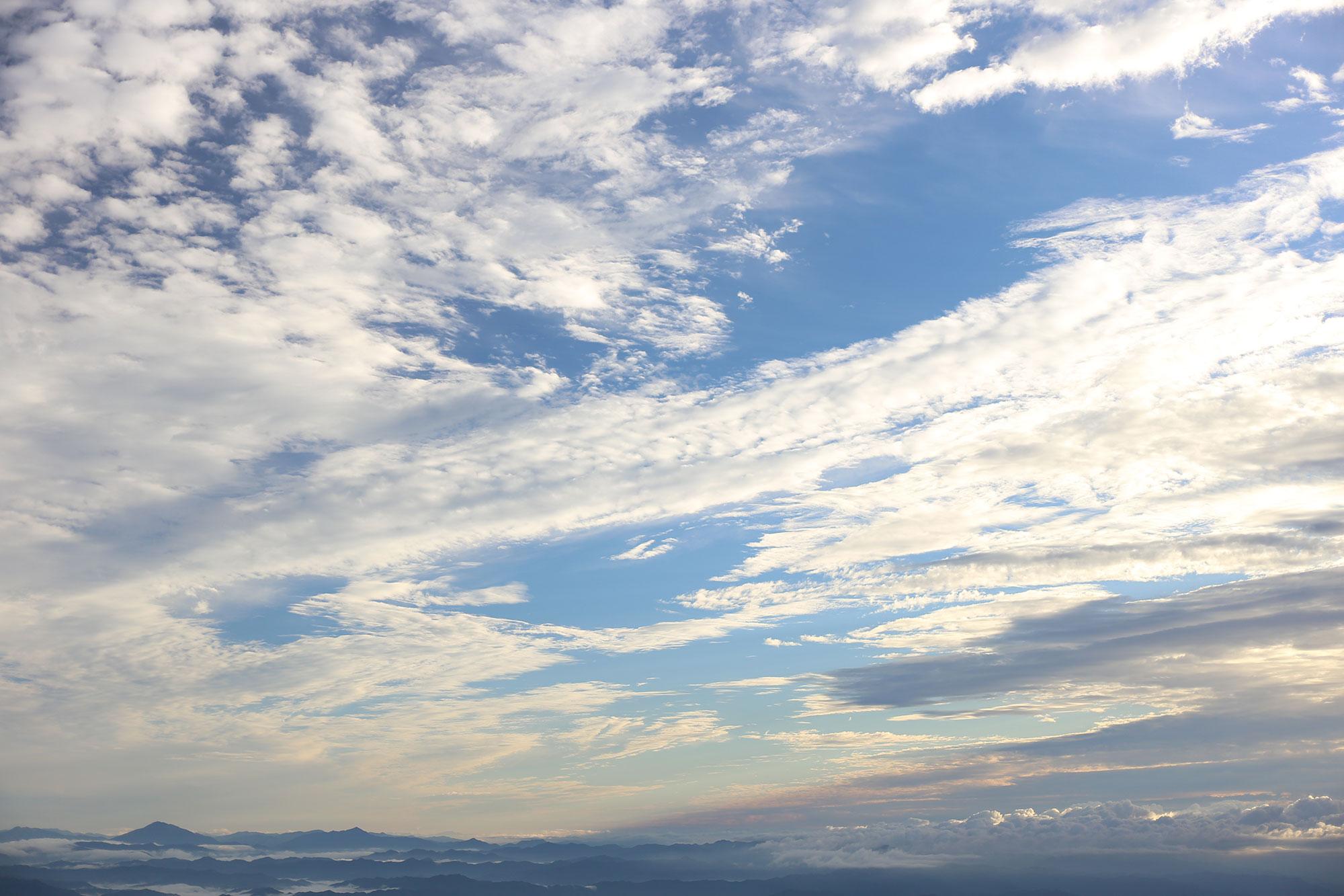 天候に恵まれて、美しい景色を堪能
