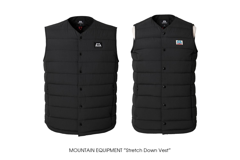 "MOUNTAIN EQUIPMENT ""Stretch Down Vest"""