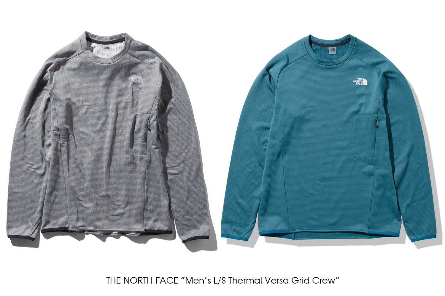 "THE NORTH FACE ""L/S Thermal Versa Grid Crew"""