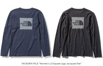 "THE NORTH FACE ""Women's L/S Square Logo Jacquard Tee"""