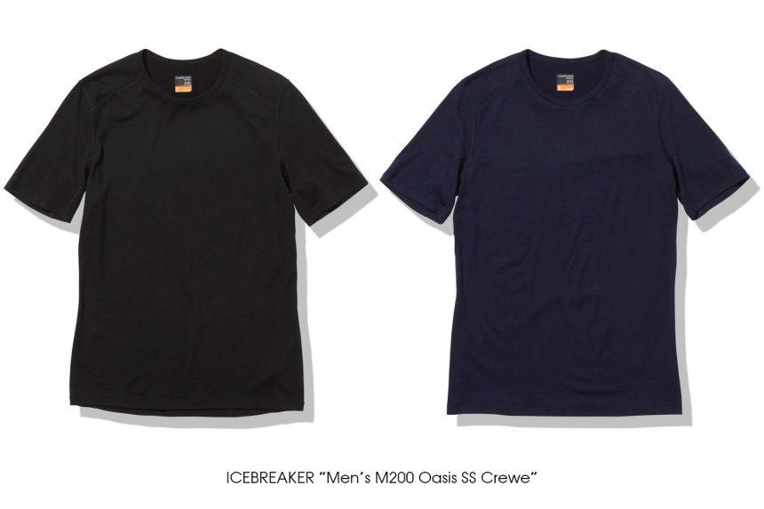 """ICEBREAKER """"Men's M200 Oasis SS Crewe"""""""