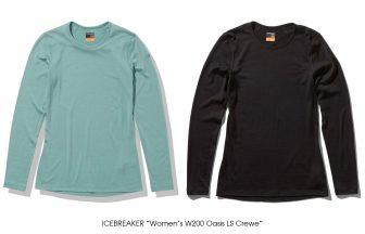 """ICEBREAKER """"Women's W200 Oasis LS Crewe"""""""