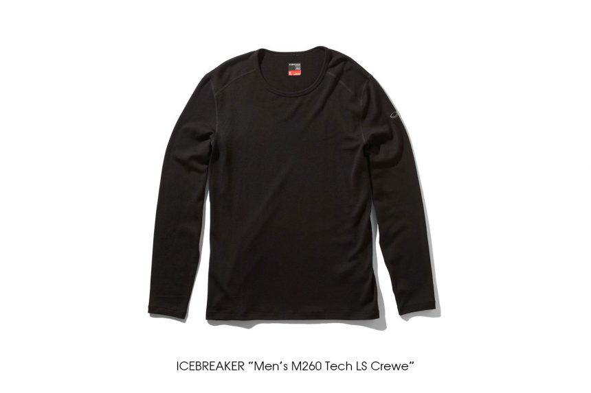 "ICEBREAKER ""Men's M260 Tech LS Crewe"""
