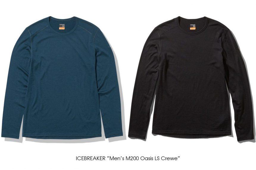 """ICEBREAKER """"Men's M200 Oasis LS Crewe"""""""