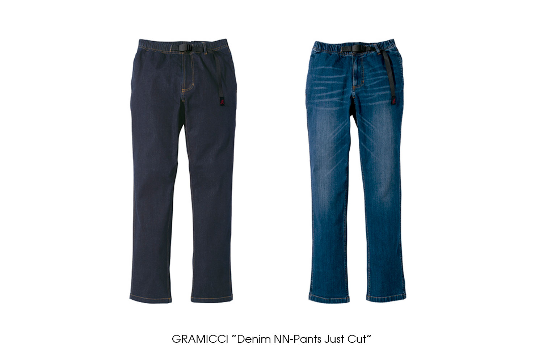 "GRAMICCI ""Denim NN-Pants Just Cut"""