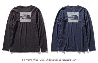 "THE NORTH FACE ""Men's L/S Square Logo Jacquard Tee"""