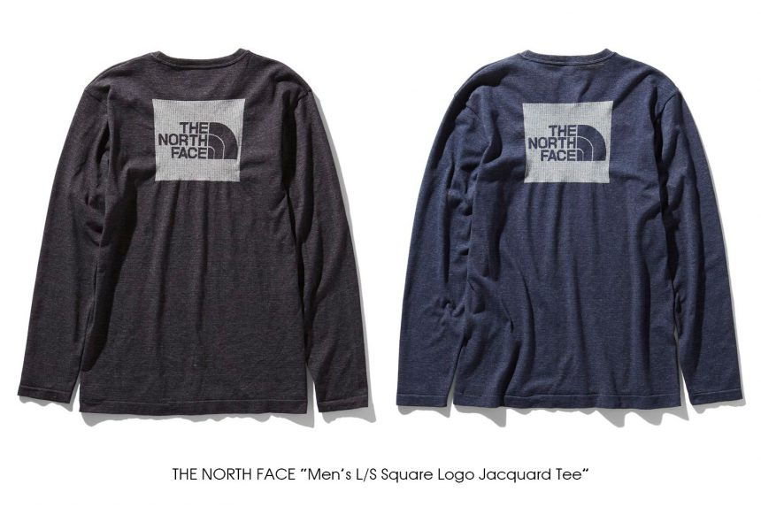 "THE NORTH FACE ""Men's L/S Square Logo Jacquard Tee"""