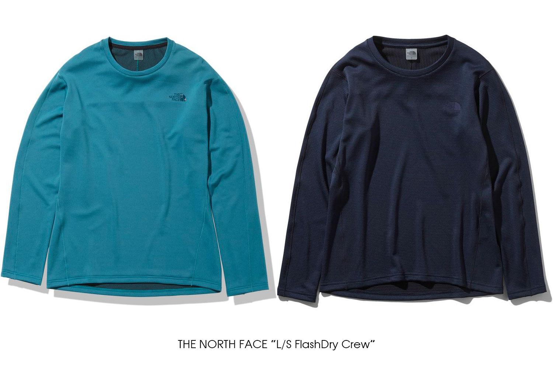 "THE NORTH FACE ""L/S FlashDry Crew"""