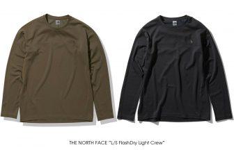 "THE NORTH FACE ""Men's L/S FlashDry Light Crew"""