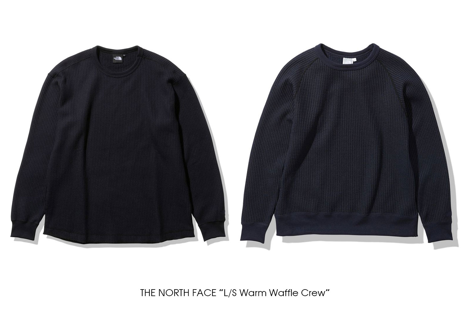 """THE NORTH FACE """"L/S Warm Waffle Crew"""""""