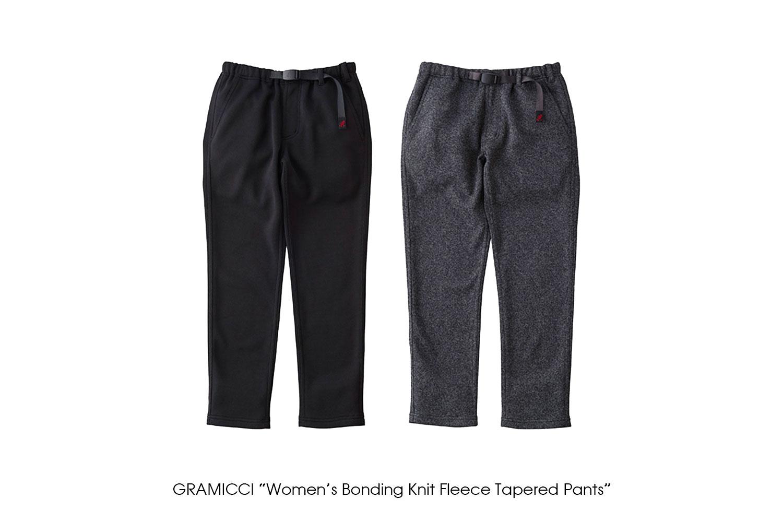 "GRAMICCI ""Women's Bonding Knit Fleece Tapered Pants"""