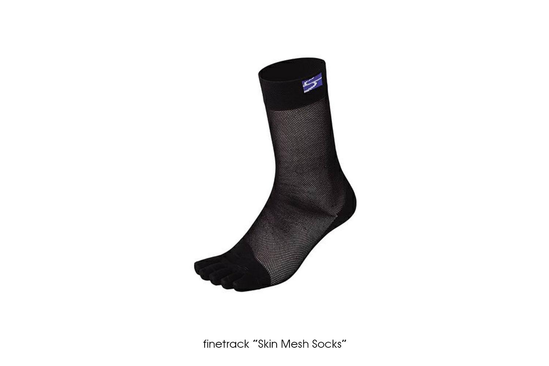 """finetrack """"Skin Mesh Socks"""""""