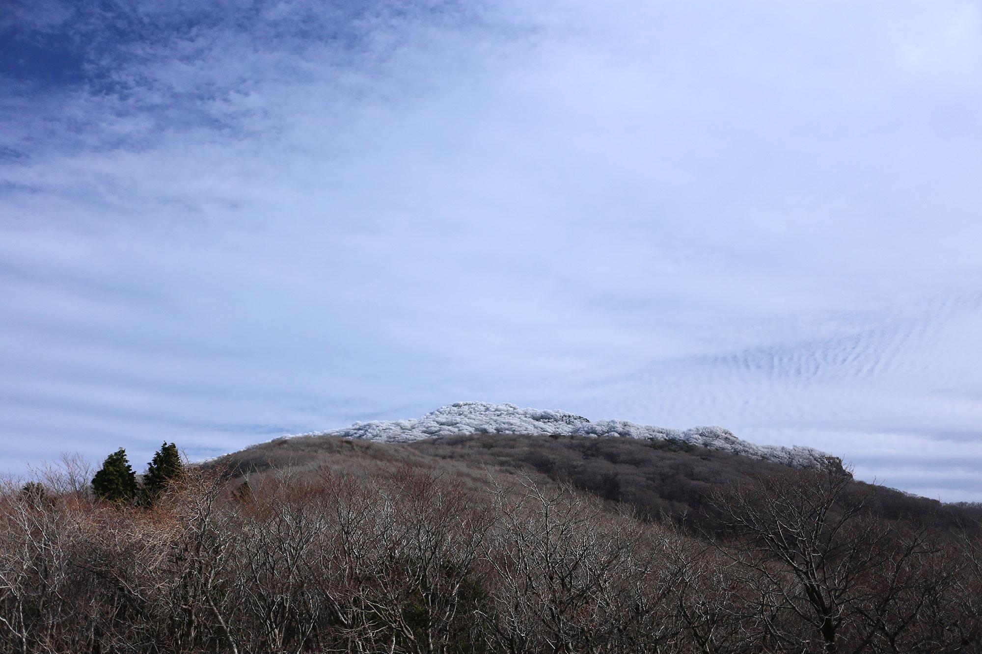 帰路で眺めた祖母山