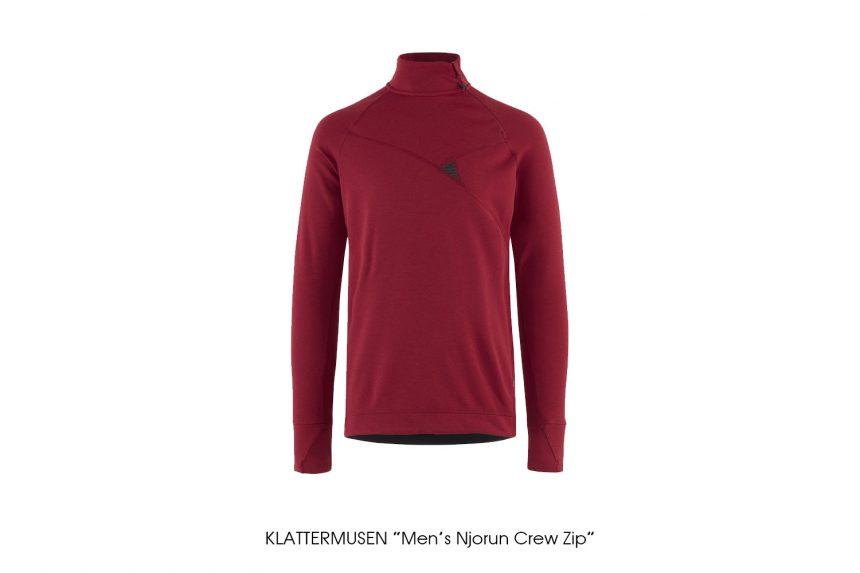 """KLATTERMUSEN """"Men's Njorun Crew Zip"""""""
