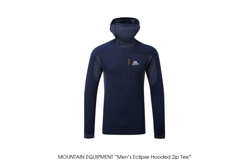 """MOUNTAIN EQUIPMENT """"Eclipse Hooded Zip Tee"""""""