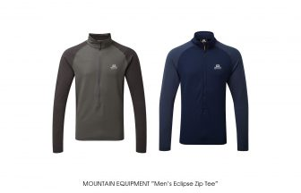 "MOUNTAIN EQUIPMENT ""Men's Eclipse Zip Tee"""