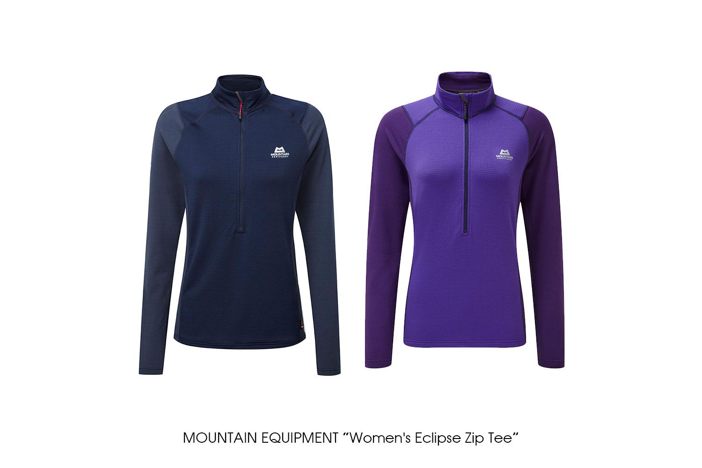 """MOUNTAIN EQUIPMENT """"Women's Eclipse Zip Tee"""""""