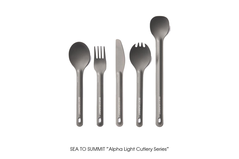 "SEA TO SUMMIT ""Alpha Light Cutlery Series"""