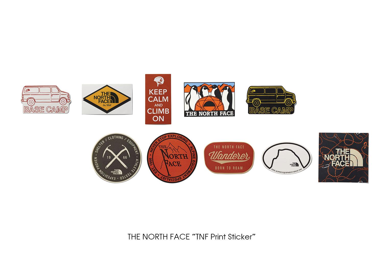 """THE NORTH FACE """"TNF Print Sticker"""""""