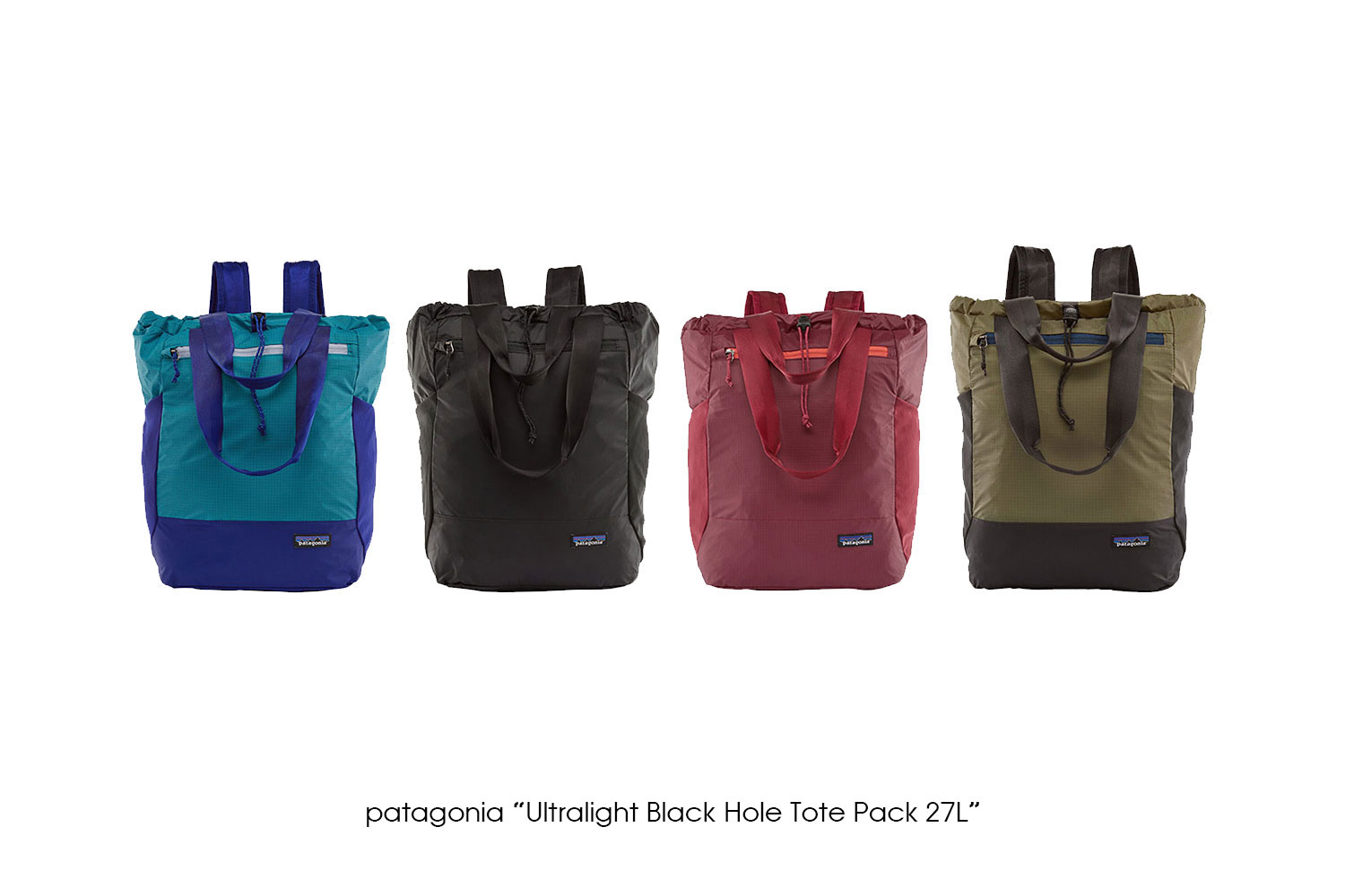 """patagonia """"Ultralight Black Hole Tote Pack 27L"""""""
