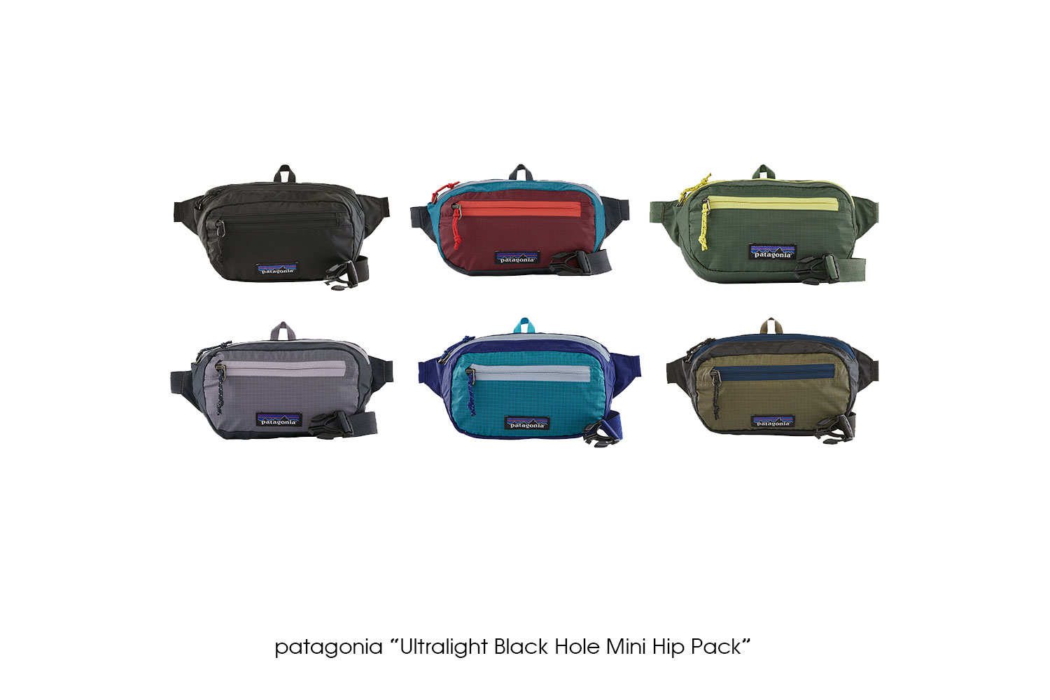"patagonia ""Ultralight Black Hole Mini Hip Pack"""