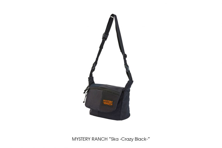 "MYSTERY RANCH ""Ska -Crazy Black-"""