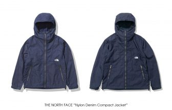"THE NORTH FACE ""Nylon Denim Compact Jacket"""