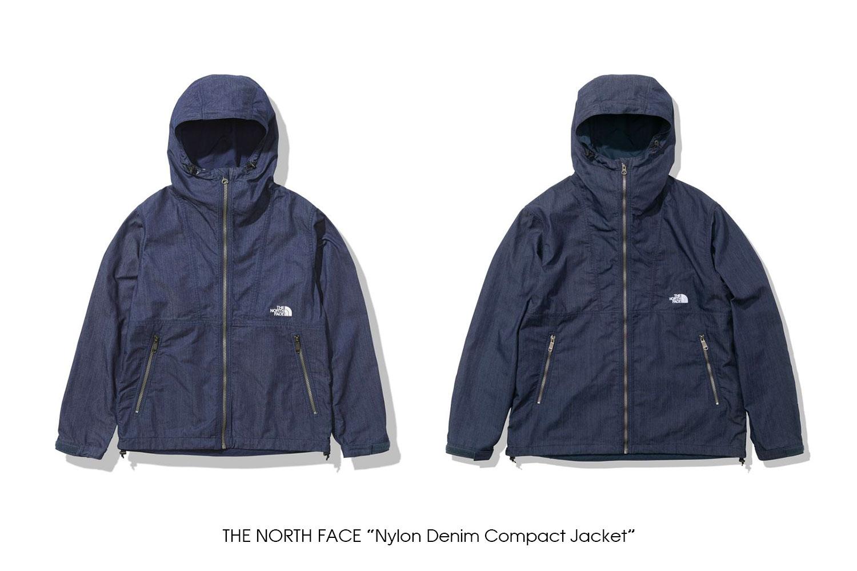 "THE NORTH FACE ""Nylon Denim Compact Jacket"""