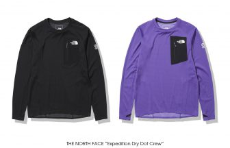 "THE NORTH FACE ""Expedition Dry Dot Crew"""