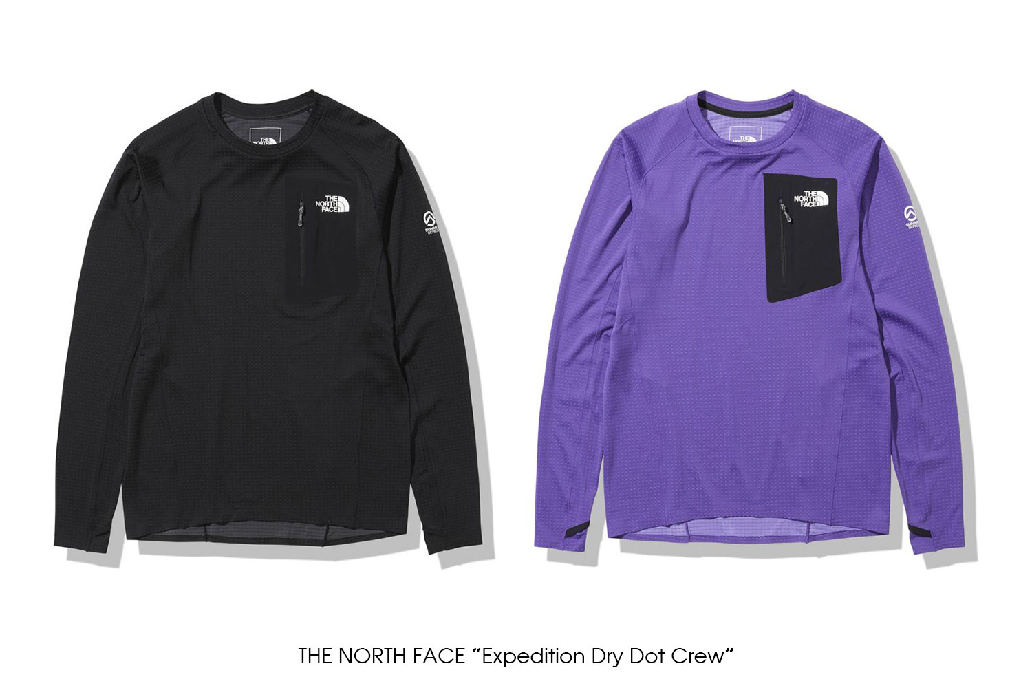"""THE NORTH FACE """"Expedition Dry Dot Crew"""""""
