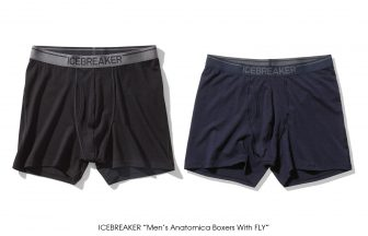 "ICEBREAKER ""Men's Anatomica Boxers With Fly"""