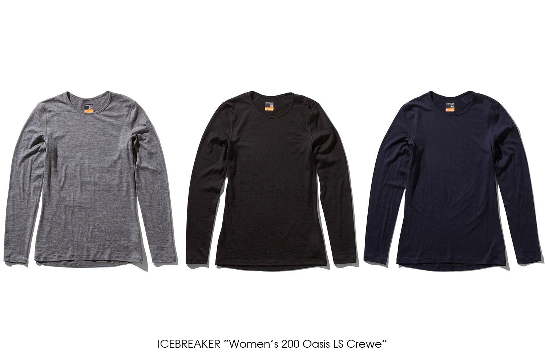 """ICEBREAKER """"Women's 200 Oasis LS Crewe"""""""