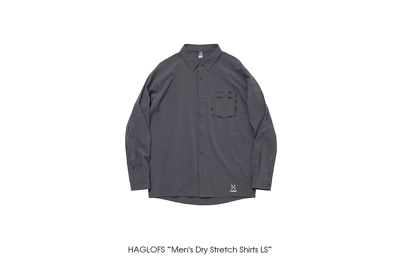 "HAGLOFS ""Men's Dry Stretch Shirts LS"""