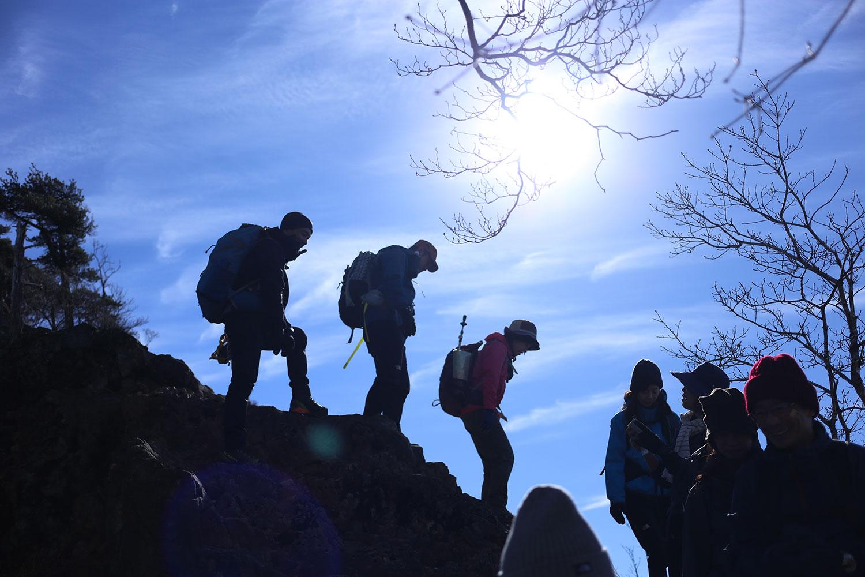 山のベテランの方にお勧め頂いた山をお客様と歩いた日。