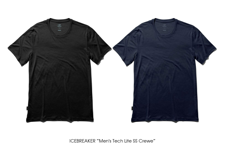 """ICEBREAKER """"Men's Tech Lite SS Crewe"""""""