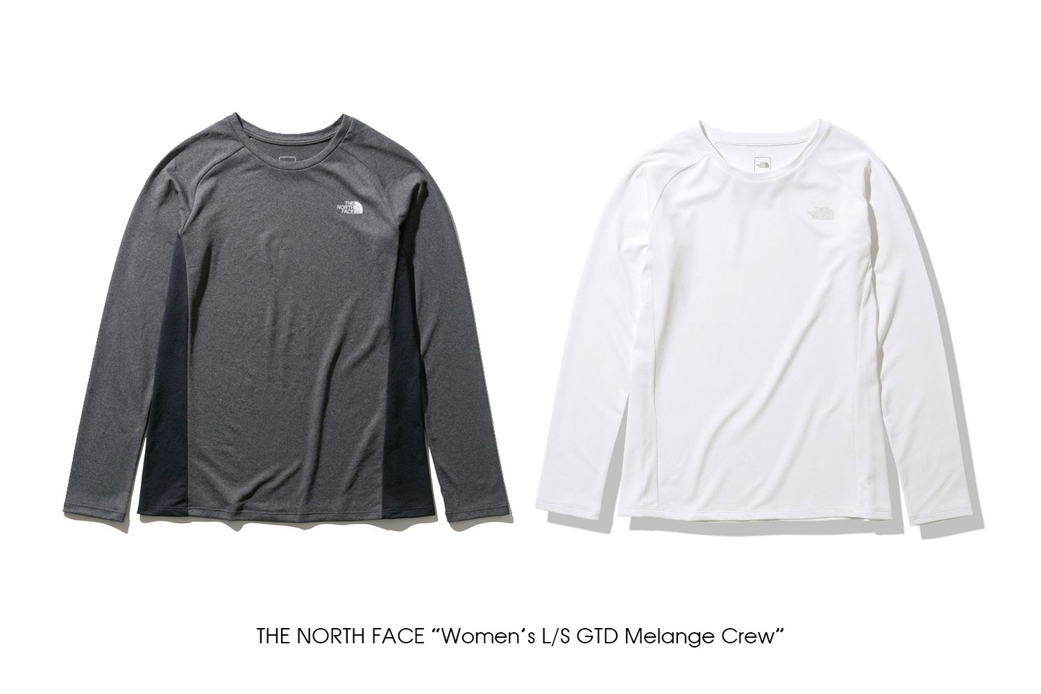 "THE NORTH FACE ""Women's L/S GTD Melange Crew"""