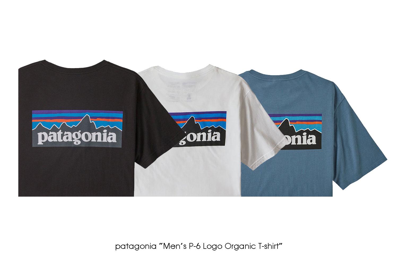 """patagonia """"Men's P-6 Logo Organic T-Shirt"""""""