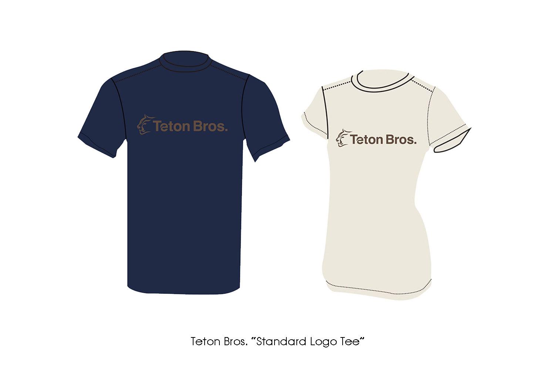 "Teton Bros. ""Standard Logo Tee"""