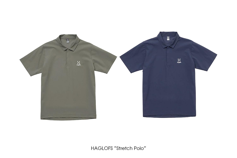 """HAGLOFS """"Stretch Polo"""""""