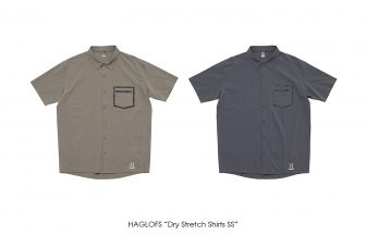 "HAGLOFS ""Dry Stretch Shirts SS"""