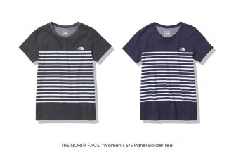 "THE NORTH FACE ""Women's S/S Panel Border Tee"""