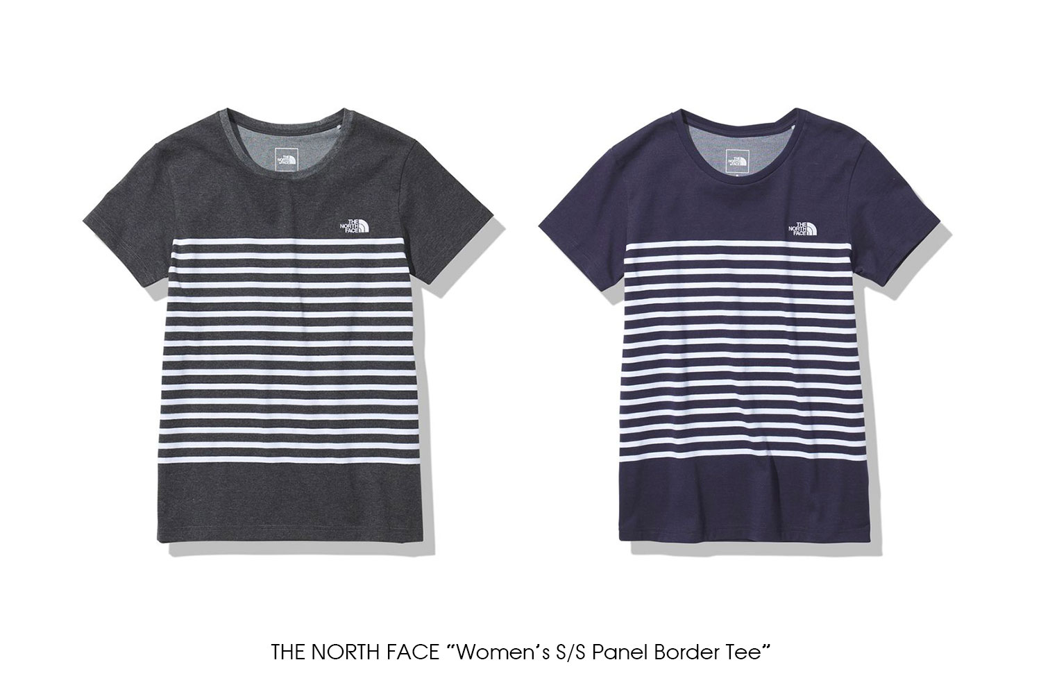 """THE NORTH FACE """"Women's S/S Panel Border Tee"""""""