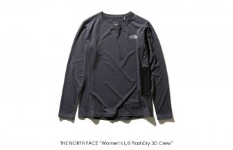 "THE NORTH FACE ""Women's L/S FlashDry 3D Crew"""