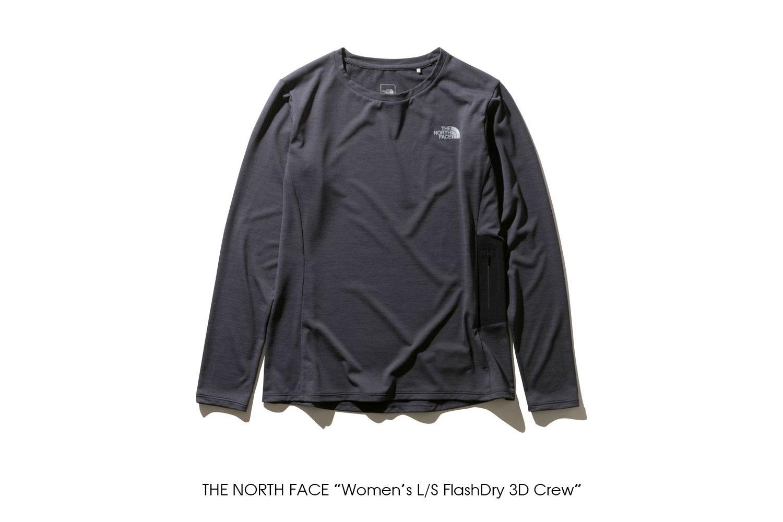 "THE NORTH FACE ""Women's L/S FlashDry 3D Crew"""