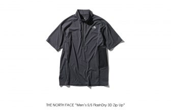 "THE NORTH FACE ""Men's S/S FlashDry 3D Zip Up"""