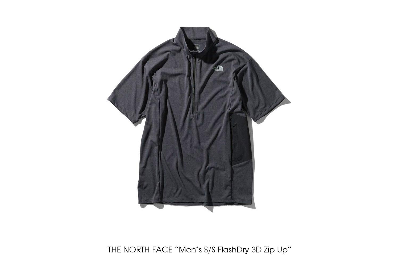 "THE NORTH FACE ""Men's S/S FlashDry 3D Zip Up"""