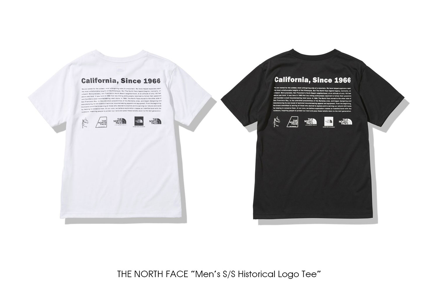 """THE NORTH FACE """"Men's S/S Historical Logo Tee"""""""