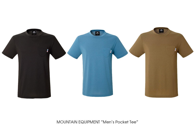 "MOUNTAIN EQUIPMENT ""Men's Pocket Tee"""