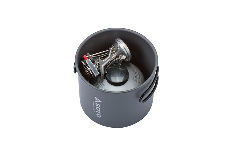SOTO社の250g OD缶がぴったり収まります。