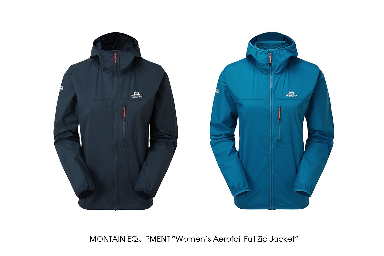 "MOUNTAIN EQUIPEMENT ""Women's Aerofoil Full Zip Jacket"""